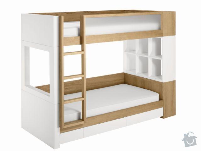 Výroba patrové postele: Nurseryworks_BunkBed2