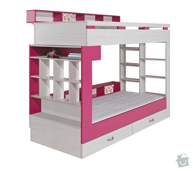 Výroba patrové postele: palanda