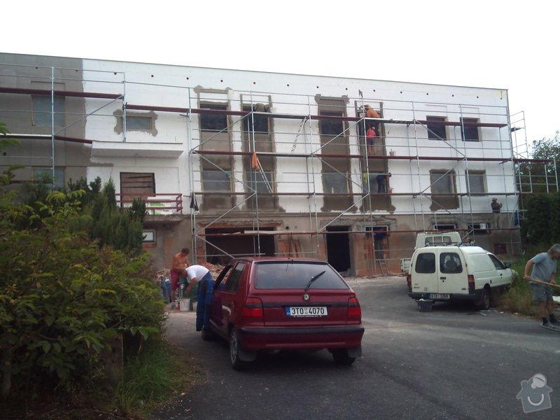 Rekonstrukce fasády + zateplení  Albrechtice: 140