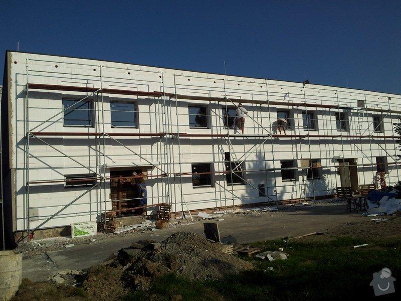 Rekonstrukce fasády + zateplení  Albrechtice: 205