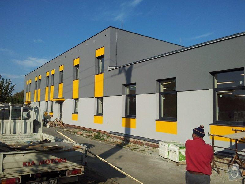Rekonstrukce fasády + zateplení  Albrechtice: 237