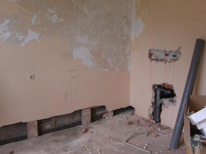 Dokončení rekonstrukce RD - elektro, zednické a obkladačské práce: CIMG6258