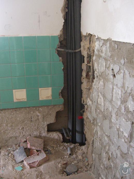 Dokončení rekonstrukce RD - elektro, zednické a obkladačské práce: CIMG6260