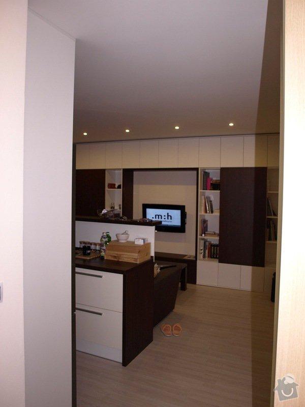 Výroba a montáž obývací stěny: obyvak2