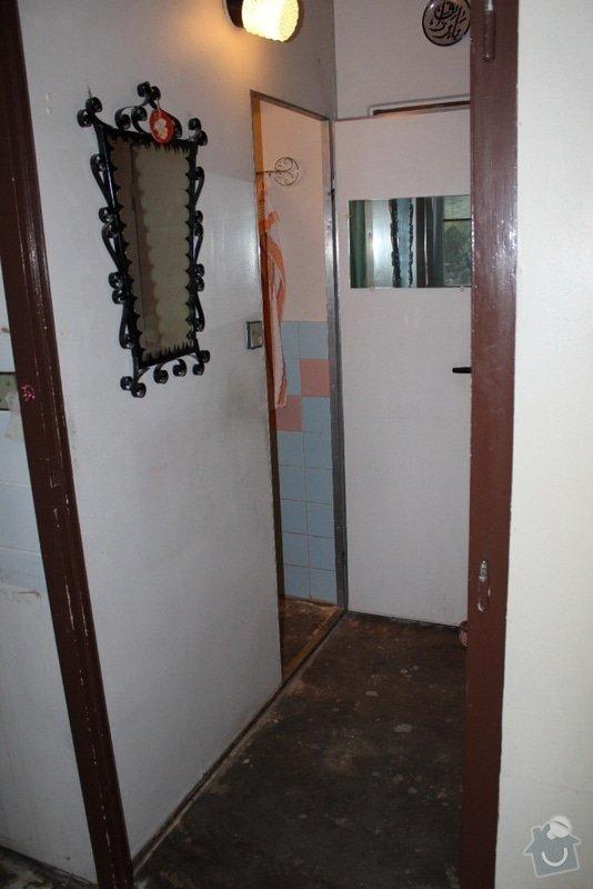 Rekonstrukce bytového jádra: 02_chodba