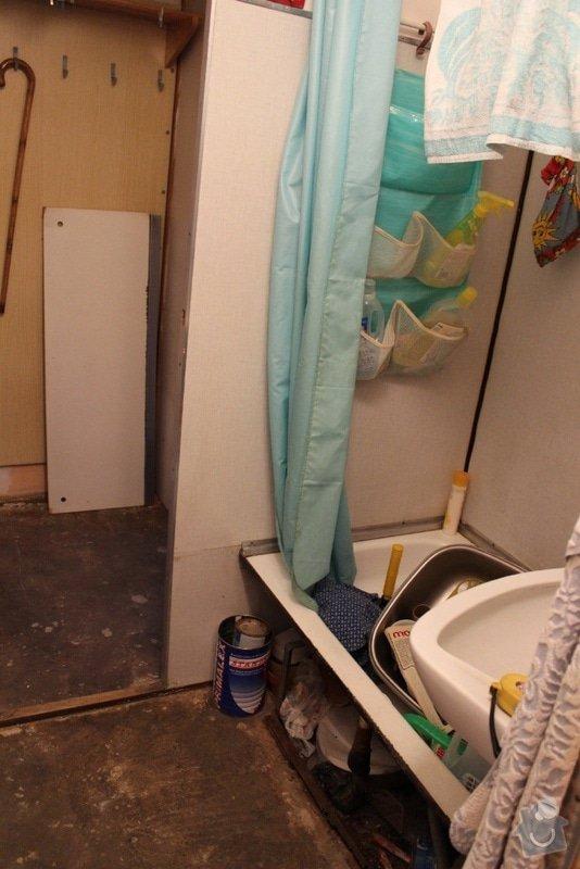 Rekonstrukce bytového jádra: 04_koupelna