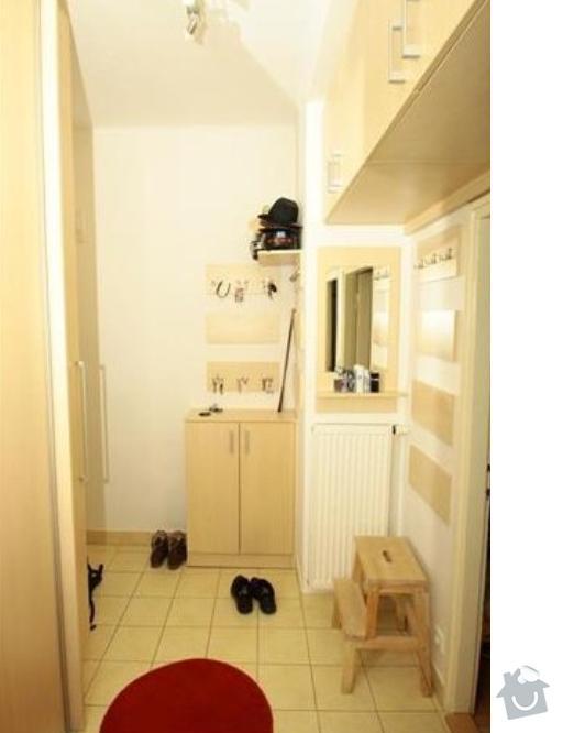 Kompletní rekonstrukce bytu: predsin