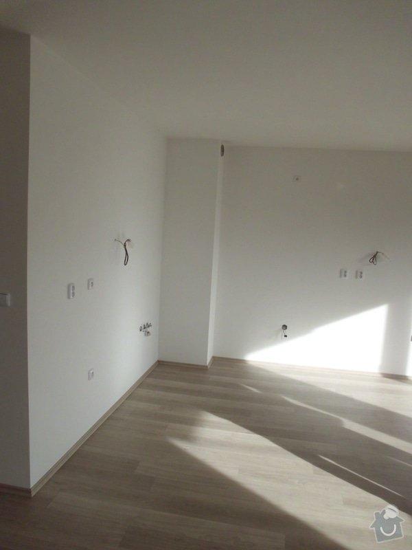 1. Elektroinstalace: kuchyně a obýv. pokoj v novostavbě bytu + 2. Sádrokartony kuchyňský kout: IMG_0693