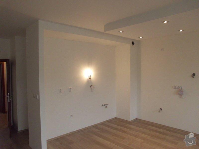 1. Elektroinstalace: kuchyně a obýv. pokoj v novostavbě bytu + 2. Sádrokartony kuchyňský kout: IMG_0793