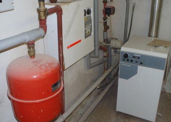 Kontrola/doladeni topne soustavy v RD + revize elektrokotle pro zadost o 26D