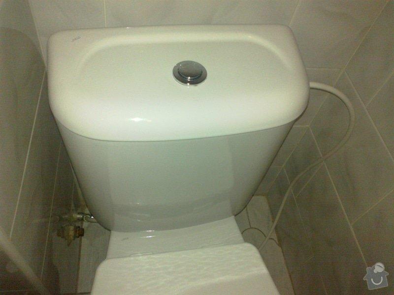 Oprava kohoutku, kape, a wc protika: 15102012106