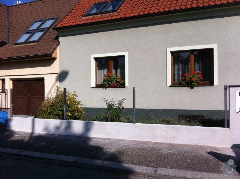 Stavba podezdivky pod plot: IMG_0703