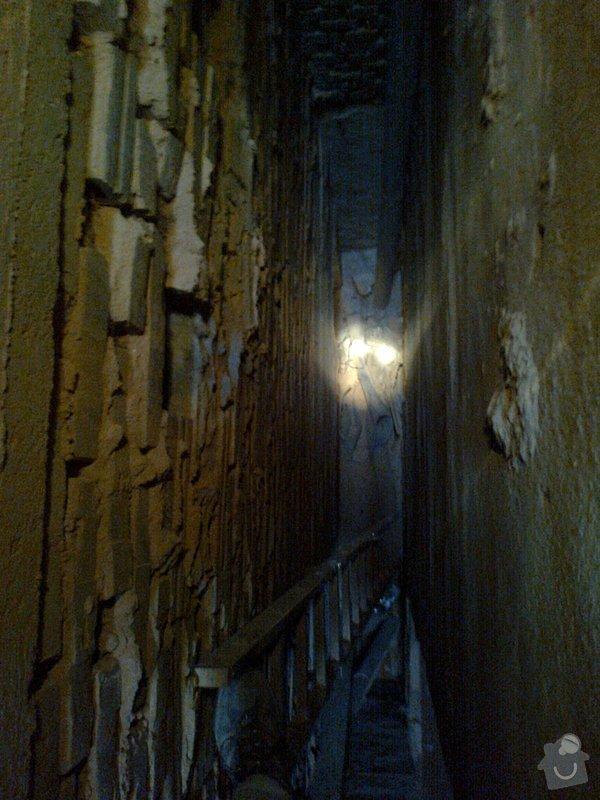 Oprava připojení odpadu z vany na litinovou stupačku: Fotografie0150_1_