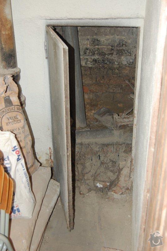Oprava připojení odpadu z vany na litinovou stupačku: DSC_4365