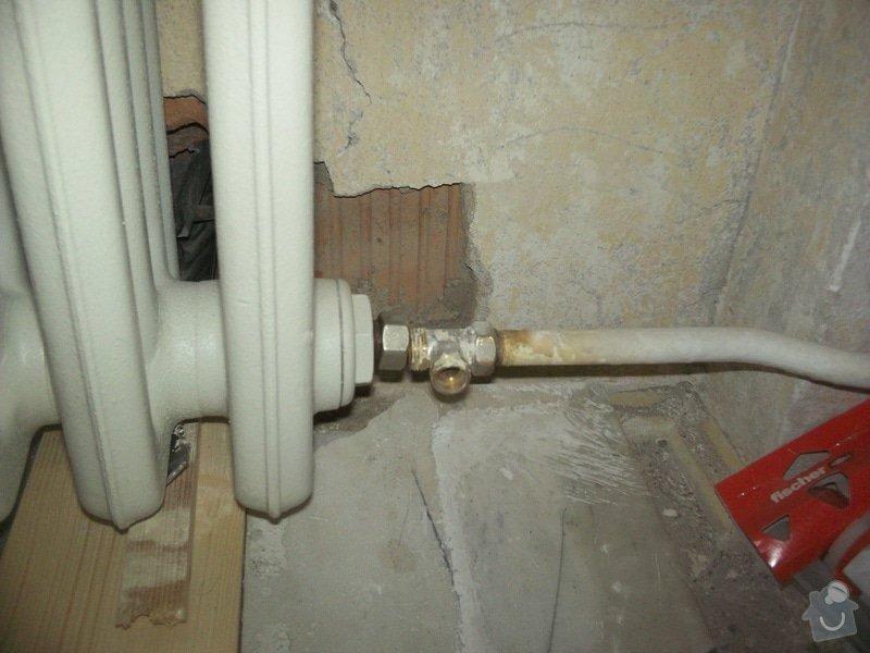 Topenářské práce s radiátorem: Topeni1
