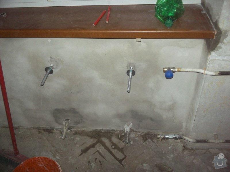 Topenářské práce s radiátorem: Topeni7