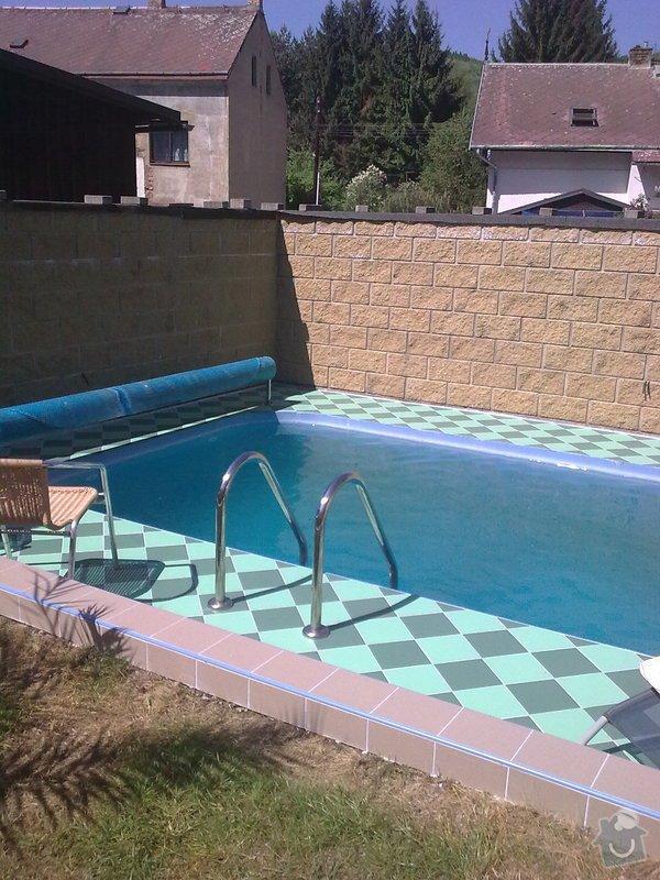 Dlažba kolem bazénu: Zahrada_020