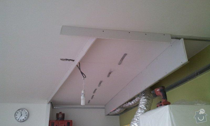 Montáž podhledu v kuchyňském koutě: 20121018_113300