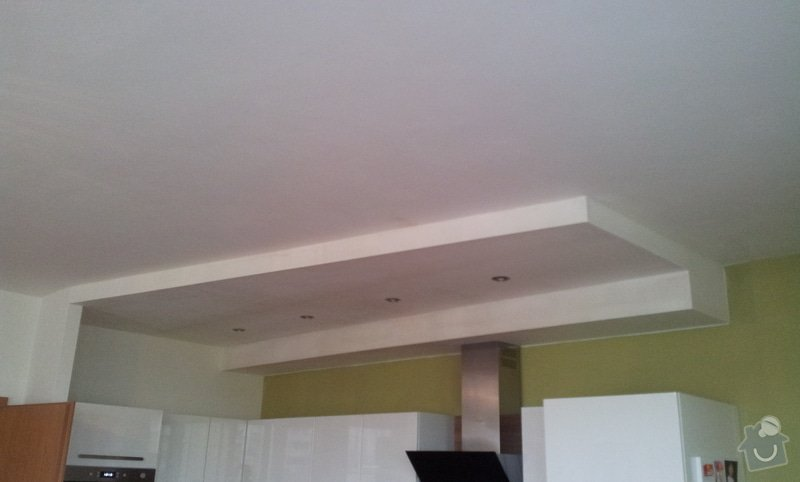 Montáž podhledu v kuchyňském koutě: 20121019_121311