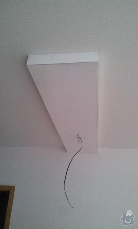 Zhotovení sádrokartonového podhledu: 20121014_100635