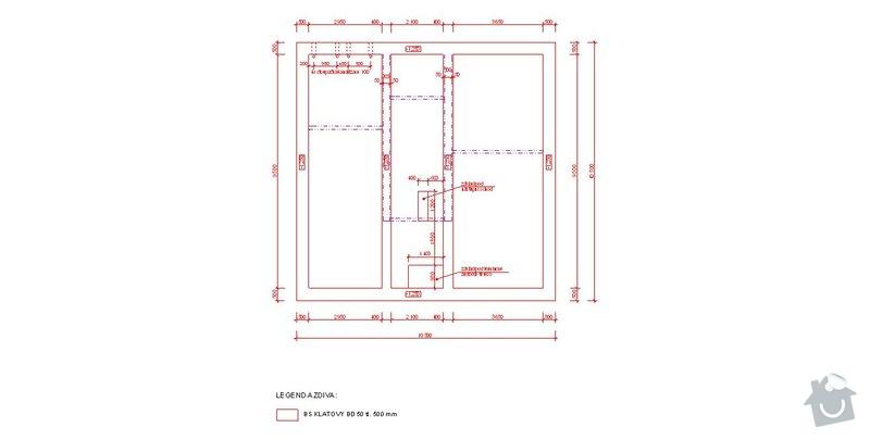 Provedení zakladové desky domu: zaklady