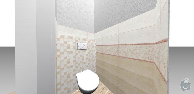 Přestavba bytového jádra: wc_b