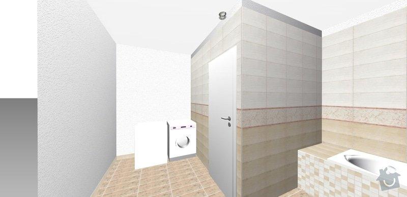 Přestavba bytového jádra: roh