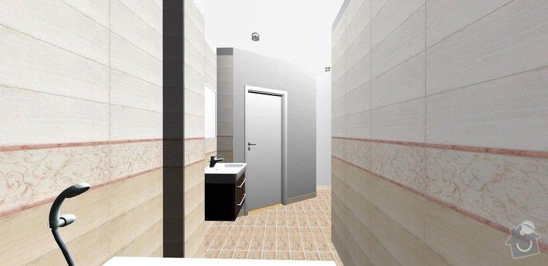 Přestavba bytového jádra: dv