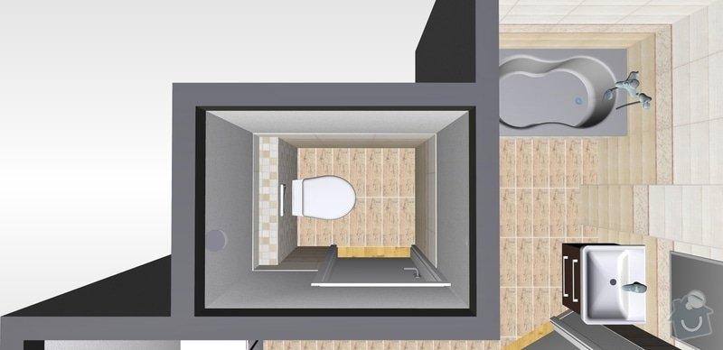 Přestavba bytového jádra: 0wc