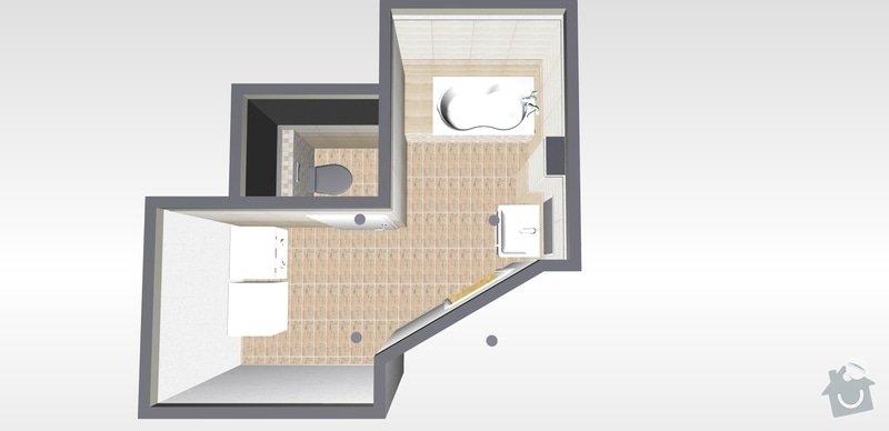 Přestavba bytového jádra: 0k