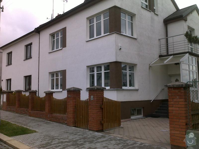 Rekonstrukce oplocení rodinného domu: 300320121299
