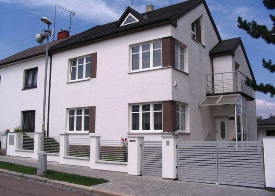 Rekonstrukce oplocení rodinného domu