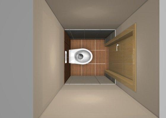 Rekonstrukci WC a koupelny