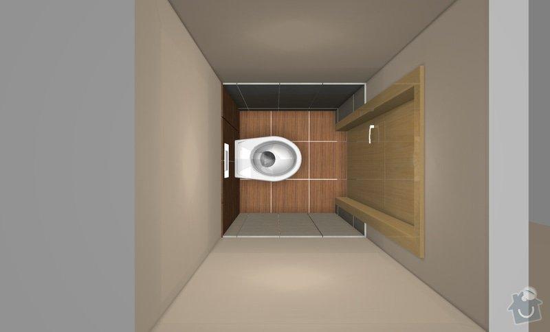 Rekonstrukci WC a koupelny: B2