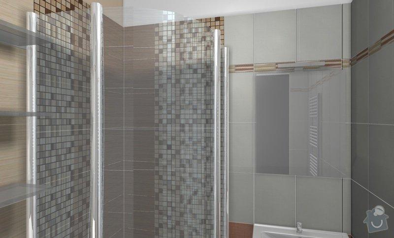 Rekonstrukci WC a koupelny: B3