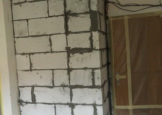 Naštukování stěny 280x150x70