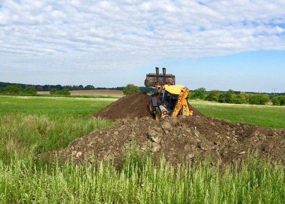 Posekání trávy a křovin