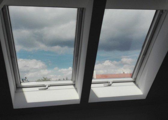 Žaluzie do dvou střešních oken