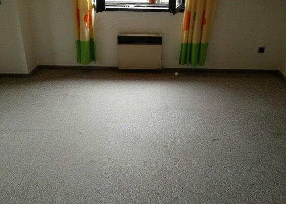 Pokládka podlahy marmoleem, 2 pokoje