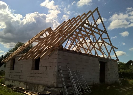 Stavba krovu