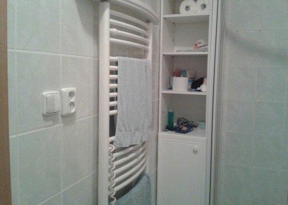 Výměna sprchového koutu, wc, dlažba, obklady