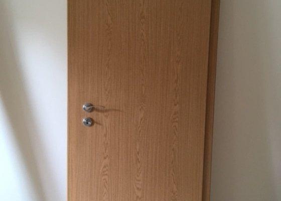 Montáž obložkových zárubní (4 interiérové dveře)