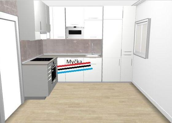 Úprava rozvodu vody pro novou kuchyn