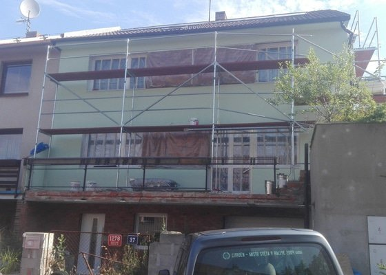 Zateplení fasády - Praha,Hostivař
