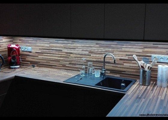 Elektroinstalace Kuchyně
