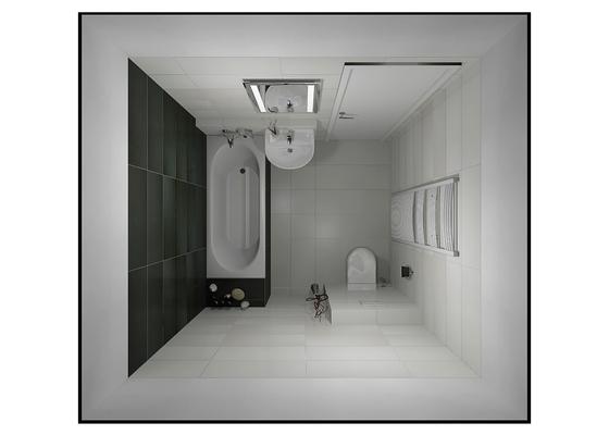 Obklad koupelny a kuchyne