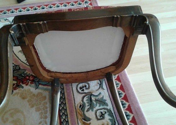 Oprava starých židlí