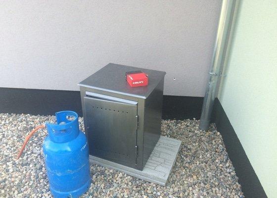 Zapojení plynové varné desky na PB