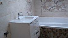 Zedník, nové obklady koupelna a wc