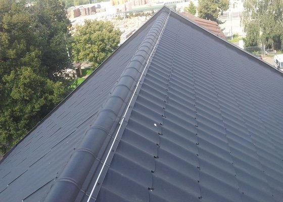 Demontáž a montáž střechy